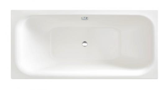 sanibel 4001 Stahl Badewanne Duo A16 Glasur Plus 1900x900x450mm weiß