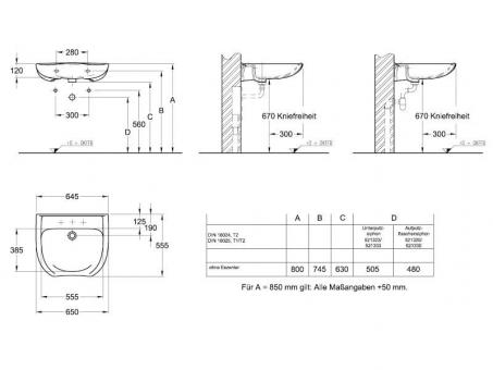 badshop veith waschtisch derby med care unterfahrbar o hl o vigour. Black Bedroom Furniture Sets. Home Design Ideas