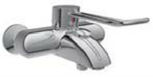 AP-Badebatterie DTOPMNW ohne Brausegarnitur Modell bis 05/2017 DTOPMNW