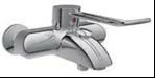 AP-Badebatterie DTOPMNWA ohne Brausegarnitur Modell bis 05/2017                          mit absperrbaren S-Anschlüssen DTOPMNWA