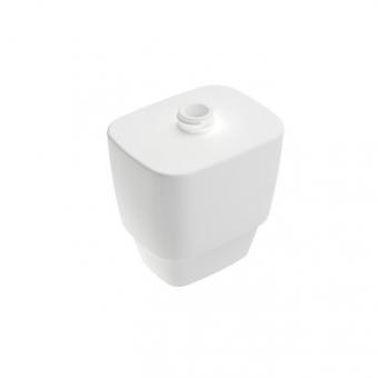 Behälter aus weisser Keramik f.Seifensp. Stand-/Wandmod.white VIGOUR