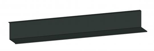Metallablage f.Flächenspiegel 600mm