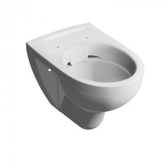 Wand-Tiefspül-WC clivia plus +5cm ohne Spülrand 54 cm weiss VIGOUR