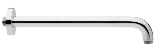 Brausearm individual 4.0 300mm mit Rosette rund verchromt VIGOUR
