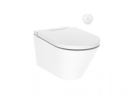 One Dusch-WC komplett wandhängend f.UP-Spülkasten weiss AXENT