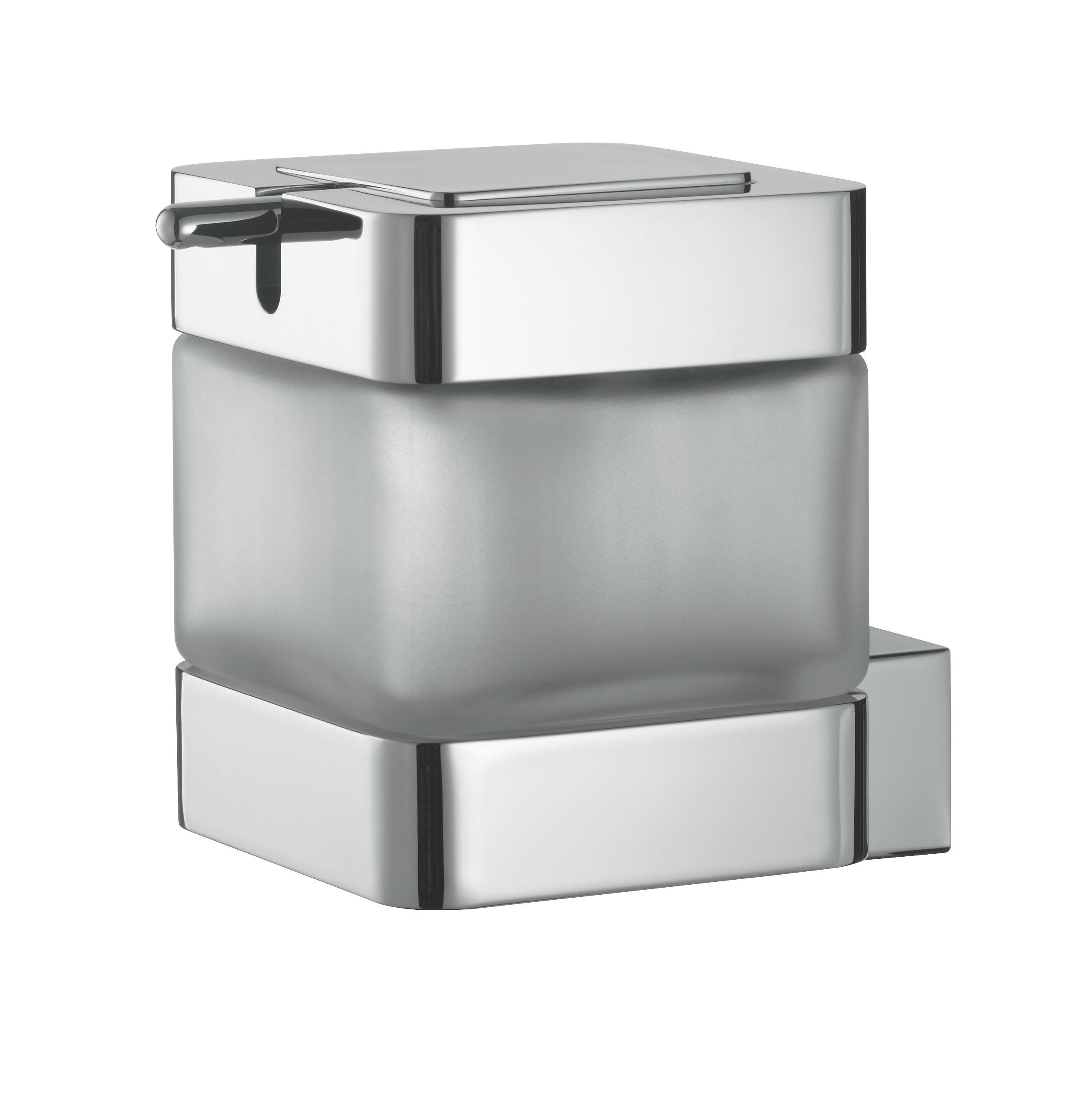 badshop veith seifenspender akua verchromt neu m glaseinsatz vigour vigour sanibel. Black Bedroom Furniture Sets. Home Design Ideas