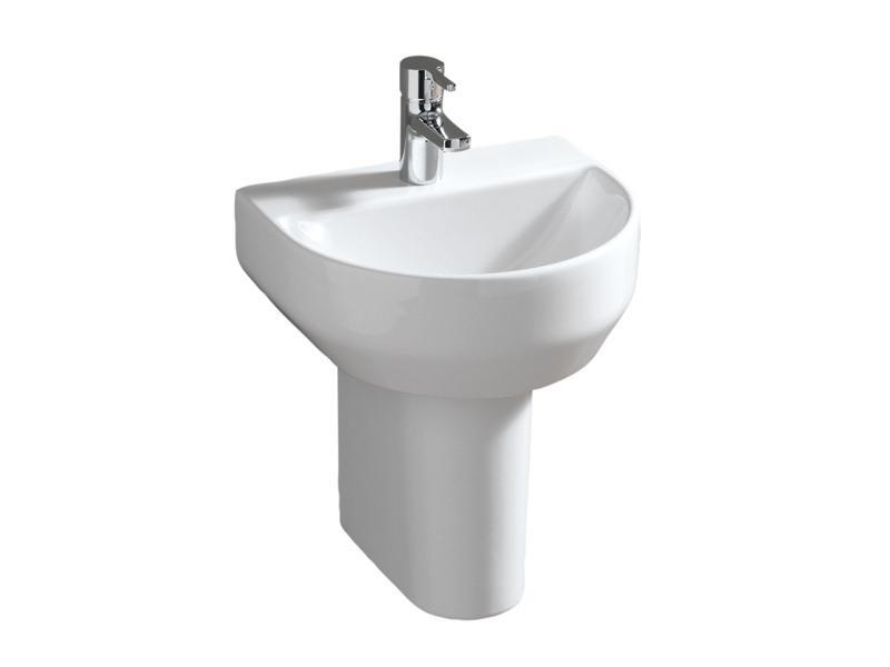 badshop veith handwaschbecken cosima o l stichmass 20cm weiss pflegeplus vig. Black Bedroom Furniture Sets. Home Design Ideas