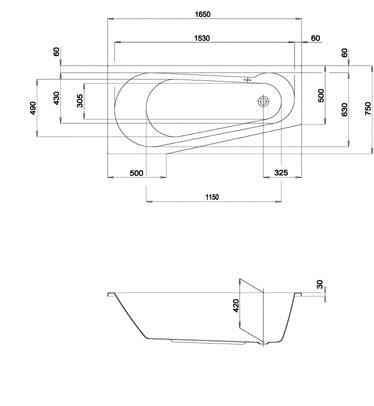derby petite badewanne eckventil waschmaschine. Black Bedroom Furniture Sets. Home Design Ideas