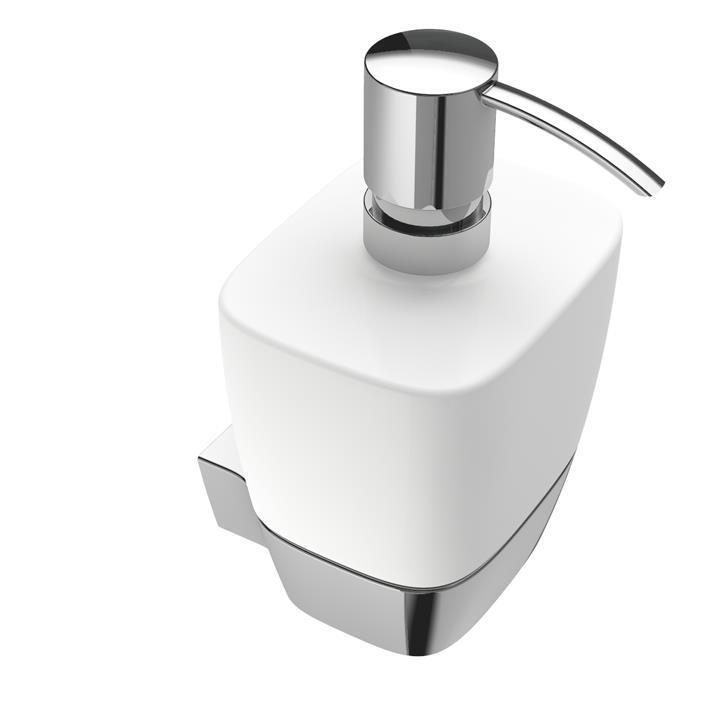 badshop veith seifenspender white beh lter aus weisser keramik vigour. Black Bedroom Furniture Sets. Home Design Ideas