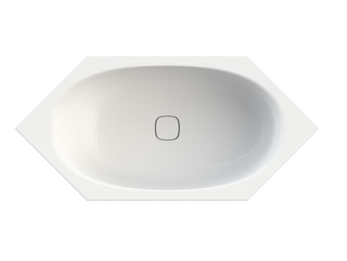 badshop veith sechseckwanne acryl white 190x90cm ab bl mi ausf vigour sanibel. Black Bedroom Furniture Sets. Home Design Ideas