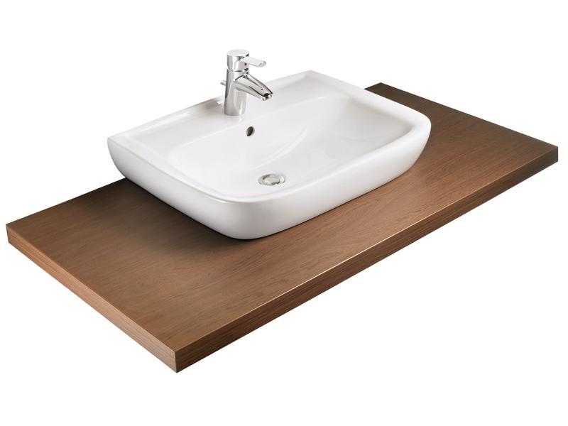 badshop veith aufsatz waschtisch derby style 65x48cm weiss vigour vigour sanibel. Black Bedroom Furniture Sets. Home Design Ideas