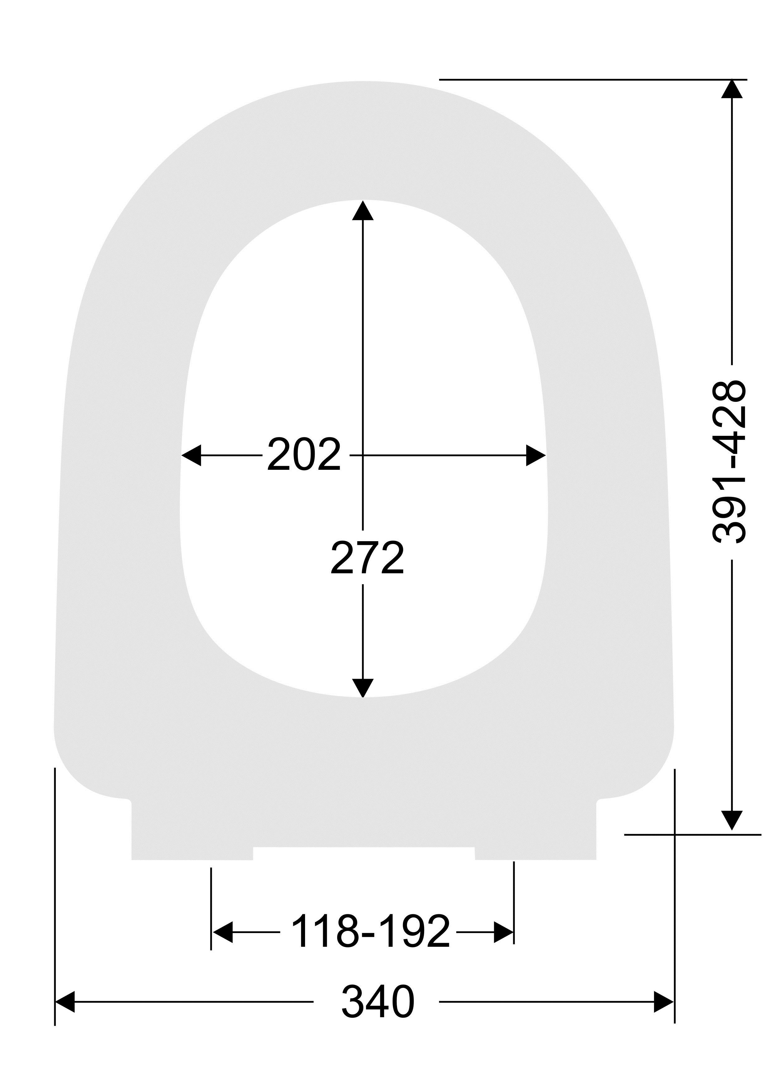 badshop veith wc sitz cosima weiss steckbefestigung vigour vigour sanibel. Black Bedroom Furniture Sets. Home Design Ideas